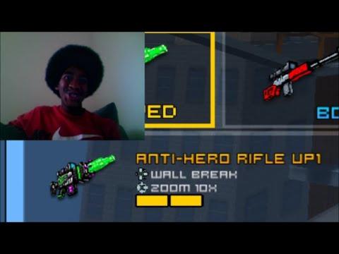 Anti Hero Rifle Up1 Review w/ AfroSuede PIXEL GUN WORLD