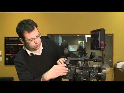 At the Bench with Canon's XF305 Camcorder