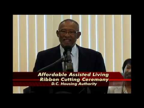 DC Housing Authority Opens Affordable Assisted Living Facility, 6/30/14