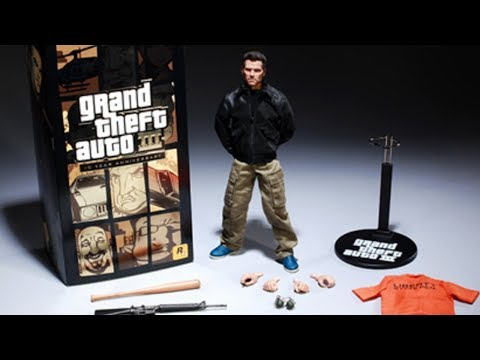 Super RARE Grand Theft Auto Collectors Items... Worth Over $6000!