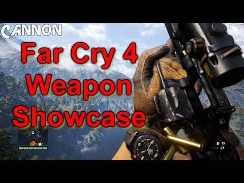 Far Cry 4: All Weapons Shown Including Signature Weapons
