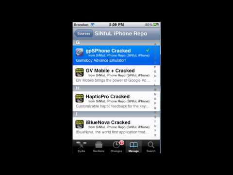 How to get gameboy advance Emulator on 4.0 iPod touch
