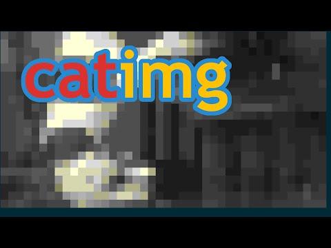 Catimg, C/Bash, JPEG/PNG/GIF in terminal