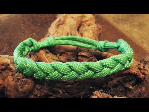 How To Make An Adustable Paracord Rastaclat Friendship Bracelet With Sliding Knot
