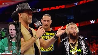 WWE Raw 1/9/17 Shawn Michaels HBK Return!