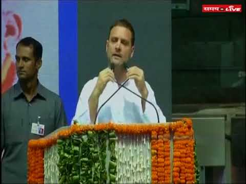 Rahul Gandhi attacked BJP and RSS in OBC conference