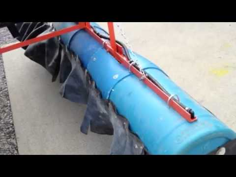 Low drift agriculture sprayer