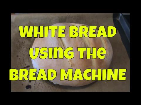 White Bread using the Bread Machine