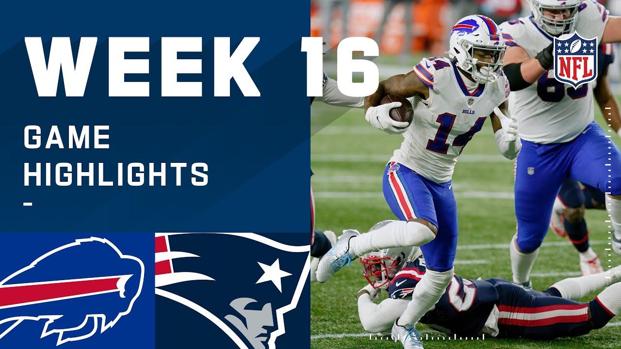 Bills vs. Patriots Week 16 Highlights | NFL 2020