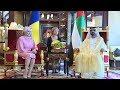 10/16/18: Dubai - Întrevedere cu A.S Șeicul Muhammad Bin Rashed al Maktoum