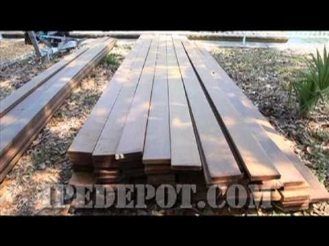 How to Set up Ipe Decking After Delivery