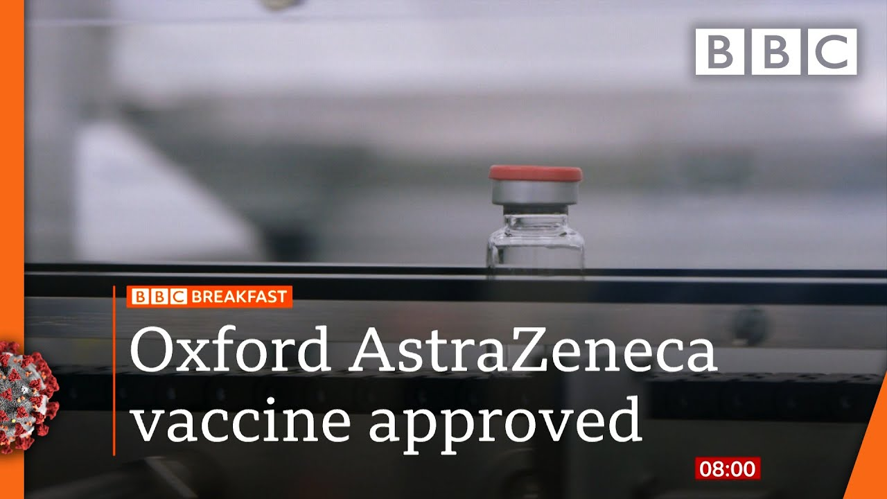 Covid-19: Oxford-AstraZeneca coronavirus vaccine approved for use in UK 🔴 @BBC News live - BBC