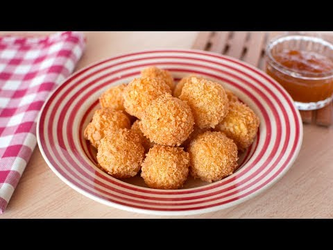 Gouda Cheese Balls - Quick & Easy Fried Cheese Balls Recipe
