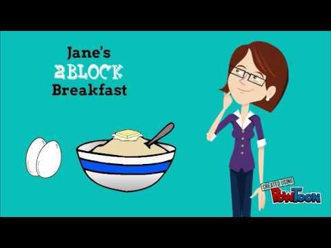 Zone Diet - Meet Jane