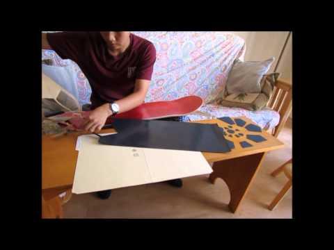 Designing and cutting custom griptape #2