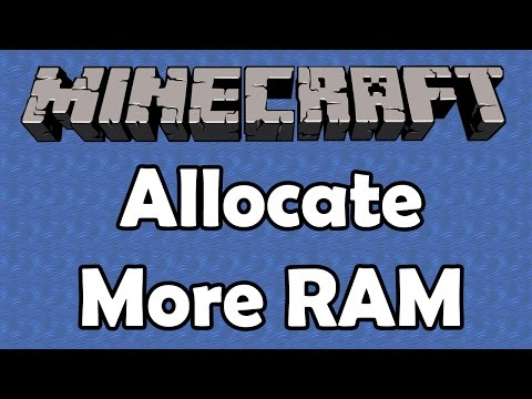 How to allocate extra RAM for Minecraft 1.11.2 (New Launcher)