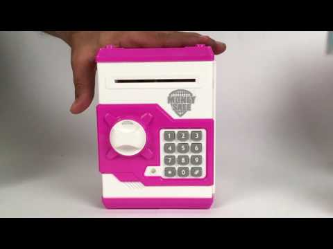 Money Bank/ Coin Box With Electronic Secret Code Lock!