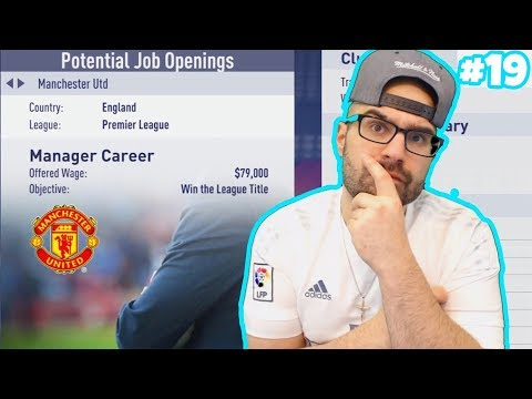 ACCEPTING THE MANCHESTER UNITED JOB! - FIFA 18 Career Mode Real Madrid #19
