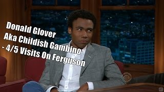 Donald Glover Aka Childish Gambino Craig Is His Real Father 45 Visits In Chronological Order
