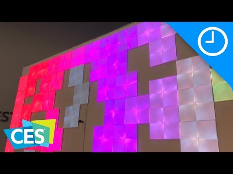 Hands-on: Nanoleaf's new square light panels and dodecahedron remote