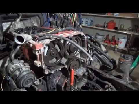 Cummins ISX front cover oil leak repair