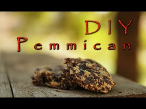 How to make Pemmican - the original DIY survival food!