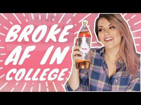 Being Broke AF in College | Pour Decisions With Candace