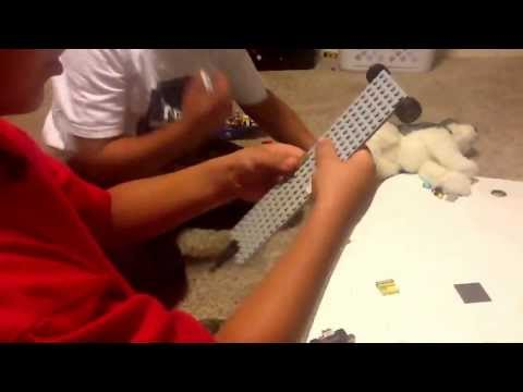 Lego truck trailer and boat