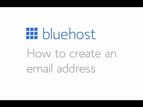How to create an email account