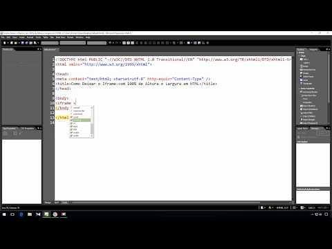 Como Deixar o Iframe com 100% de Altura e Largura - HTML