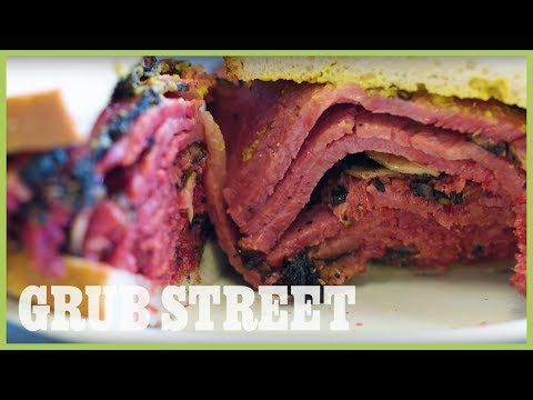 See How New York's Best Pastrami Is Made