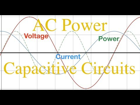 RLC Circuits (2 of 6) Power in Capacitive Circuits