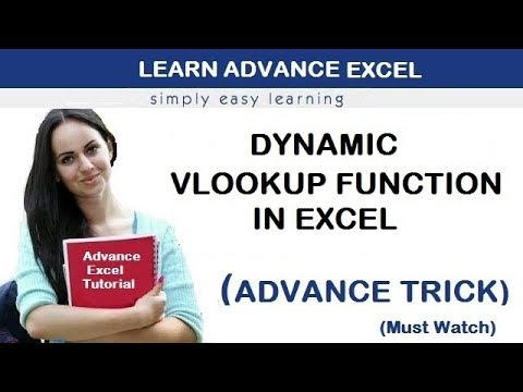 Learn Dynamic V lookup Function in Excel