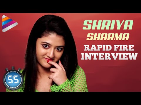 Xxx Mp4 Shriya Sharma Says NO To Love Scenes Rapid Fire Interview Nirmala Convent Movie 3gp Sex