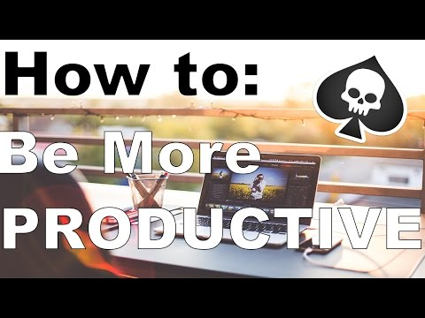 How to be productive - Increase Productivity - Self control app