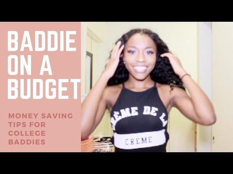 Baddie on a budget: Money saving tips for college students!
