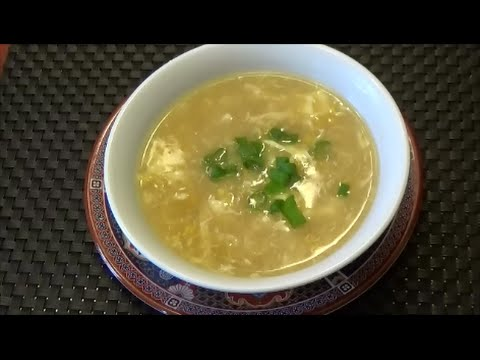 Chicken Corn Soup - Chinese Style - Episode 90