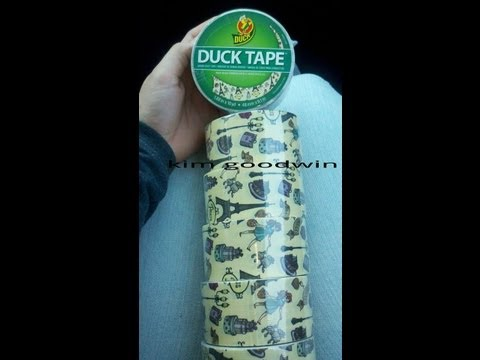 Worlds RAREST Duck Brand Tape!!! Plus a New Duck Brand Tape