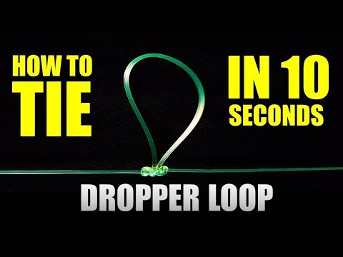 FASTEST DROPPER LOOP and PATERNOSTER RIG | How to tie Fishing Knots | Fastest and Easiest way