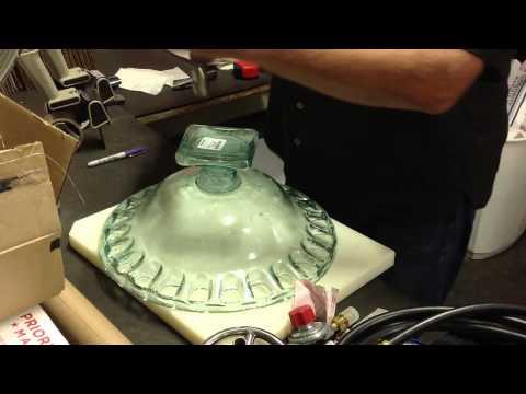 EasyFirePits Makes Glass Fire Bowl