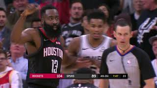 James Harden Couldn't Believe Refs Took Away This Dunk