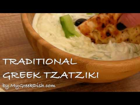 Tzatziki sauce recipe - How to make Traditional Greek Tzatziki (Greek Garlic Yogurt sauce)