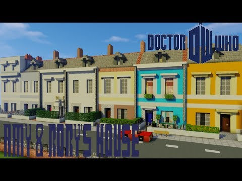 Minecraft Doctor Who: Amy & Rory's House