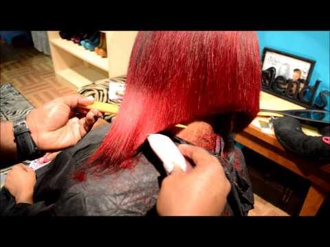 Omeece Culmer Perfect Bob Cut inspired by Ms Willa World- FULL TUTORIAL