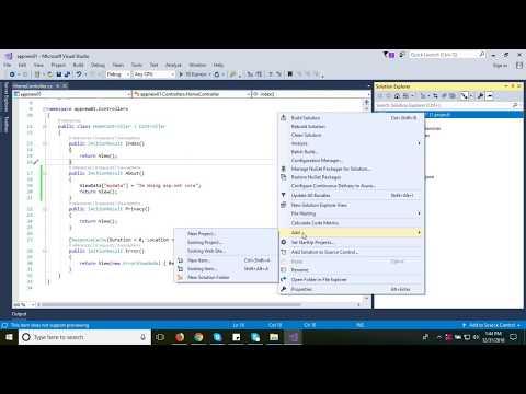 #2 Creating Application context using  EF core | ASP DOT NET CORE