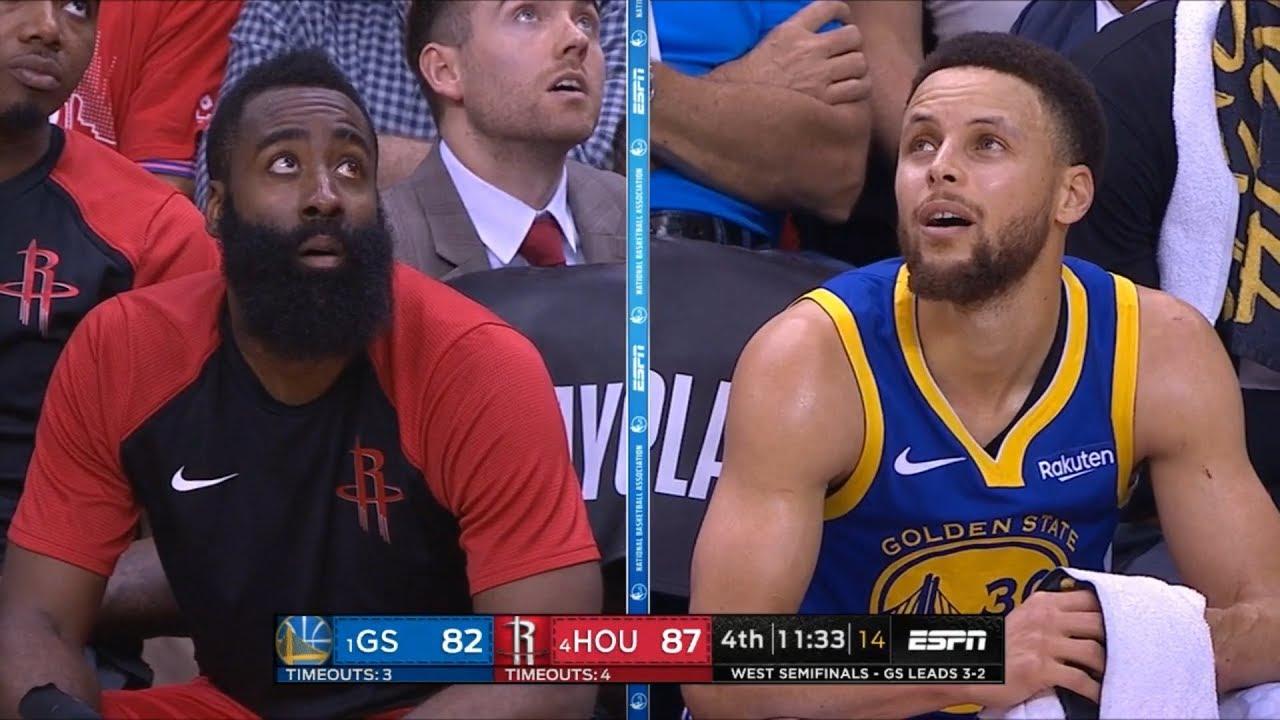 GS Warriors vs Houston Rockets - Game 6 - Full 4th Qtr | 2019 NBA Playoffs