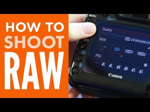 How to Shoot in RAW from PhotographyConcentrate.com