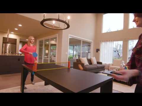 Lifestyle Video | Harvil Portable and Retractable Table Tennis Net Set To-Go | Dazadi.com