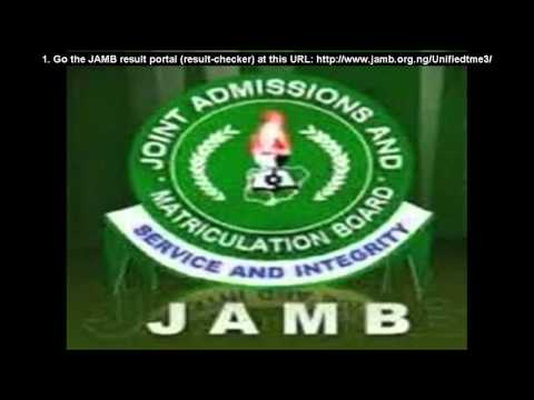 JAMB CBT RESULT CHECKER 2016:  5 Steps To Check Your 2016 Results