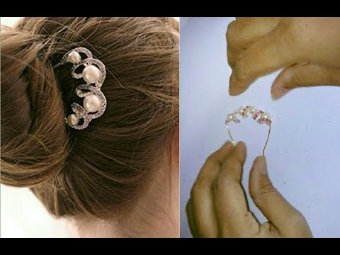 DIY hair accessories - How to make this hair accessories | jewellery tutorials